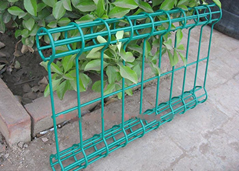Double Loop Decorative Fence